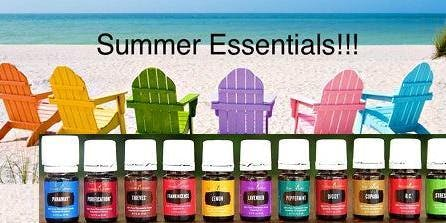 Summer Essentials: Health & Wellness with Essential Oils