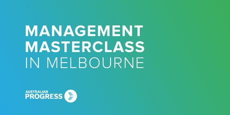 2020 Melbourne Management Masterclass tickets