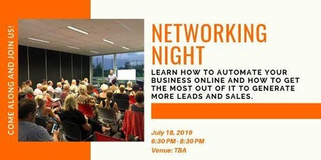 12th Networking Night in the Gold Coast tickets