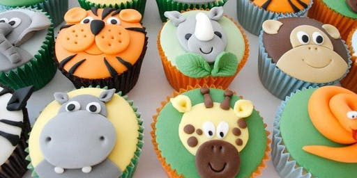 JUNGLE ANIMAL THEMED CUPCAKES