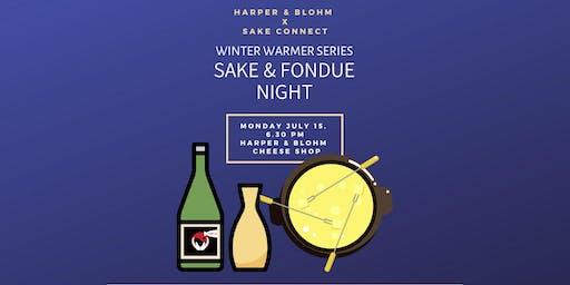 Fondue & Sake Night