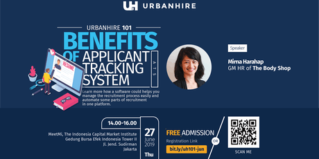 "Urbanhire 101 ""Benefits of Applicant Tracking System (ATS)"" tickets"
