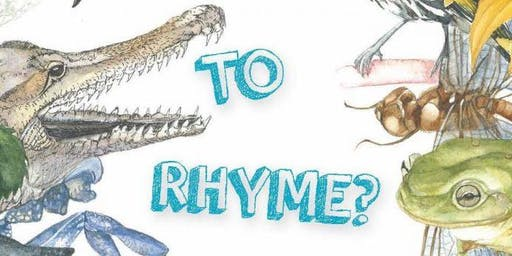 SCHOOL HOLIDAY PROGRAM 2019: 'To Rhyme or Not to Rhyme', poetry with Kristin Martin