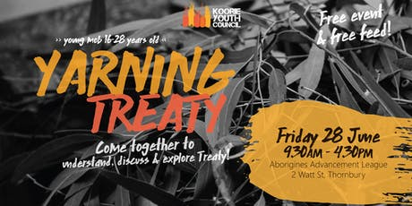 Yarning Treaty tickets