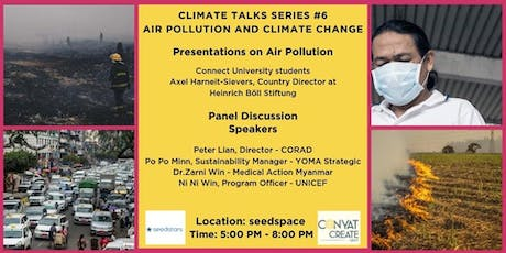 Climate Talks Series #6 | Air Pollution & Climate Change tickets