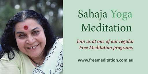 Free Meditation - Sahaja Yoga @ Tricolore Community Centre