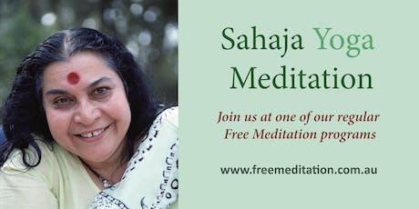Free Meditation - Sahaja Yoga @ Bassendean Memorial Library tickets