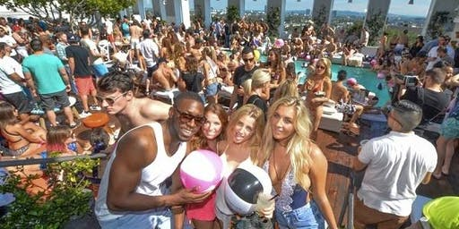 Adult Swim Pool Party Sunday @ SkyBar In The Mondrian Hotel In West Hollywood