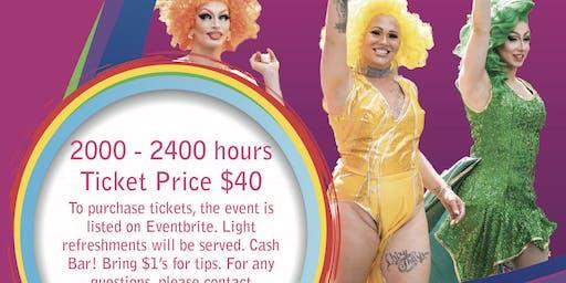 Rainbow Affair Drag On Queen