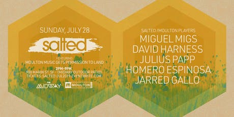 SALTED x Moulton Music Permission to Land tickets