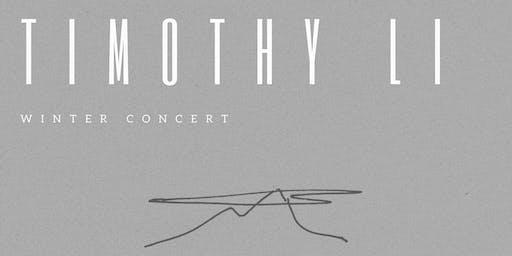 Timothy Li Winter Concert