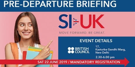 Pre-Departure Event at British Council tickets