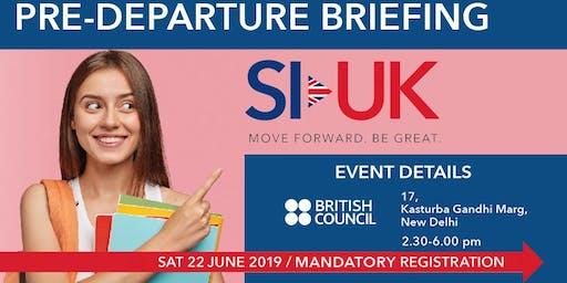 Pre-Departure Event at British Council