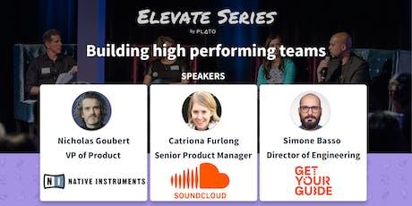 Building high performing teams (Berlin meetup) Tickets