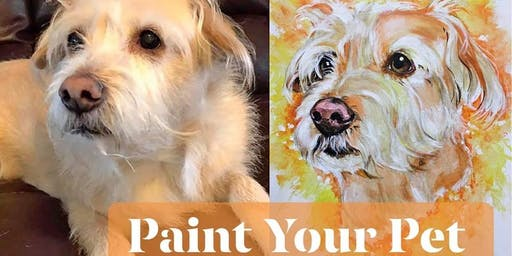 Paint Your Pet Night hosted by Paint on the Rocks