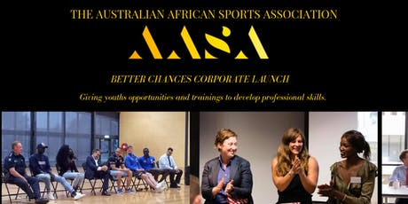 AASA Better Chances Corporate Launch tickets