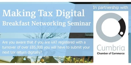 Making Tax Digital Breakfast Seminar tickets