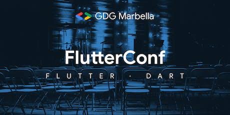 FlutterConf entradas