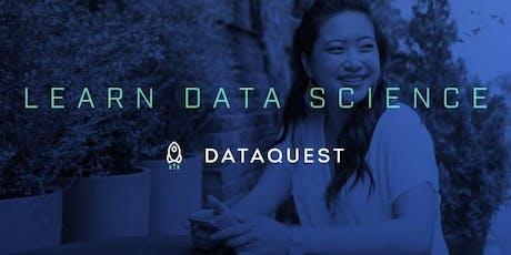 Dataquest Student Meetup – Montréal tickets