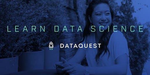 Dataquest Student Meetup – Montréal
