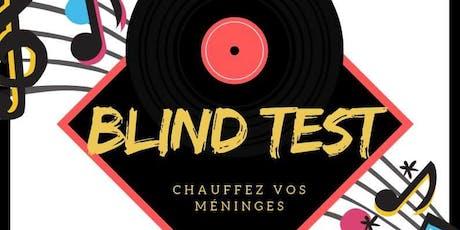 Soirée BLIND TEST à Vallauris billets