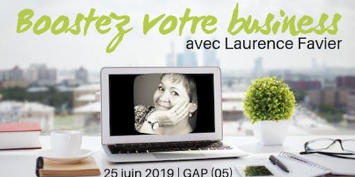 Booster votre Business avec Laurence Favier