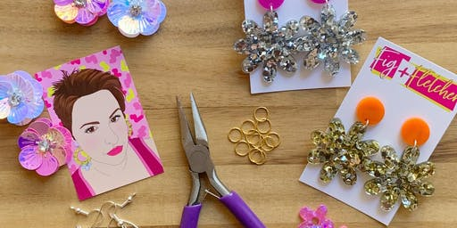 Acrylic Earring Making Workshop