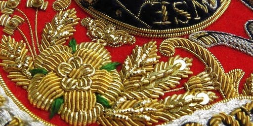Hand & Lock: Introduction to Goldwork (a one day workshop)
