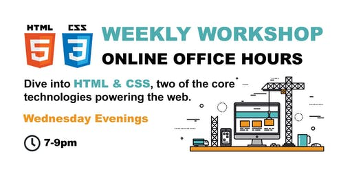 HTML, CSS & JavaScript- ONLINE OFFICE HOURS - Premium