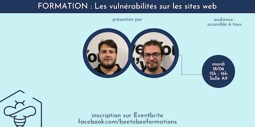 Vulnérabilités des sites web