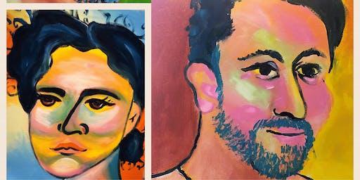 POP UP ART -- Face 2 Face