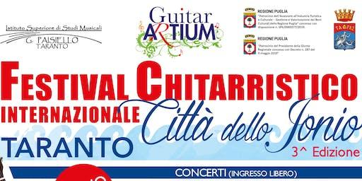 """Festival Chitarristico Internazionale """"Città dello Jonio"""" - 3° Edizione"""