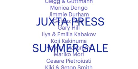 Juxta Press | Summer Sale & Open Day biglietti