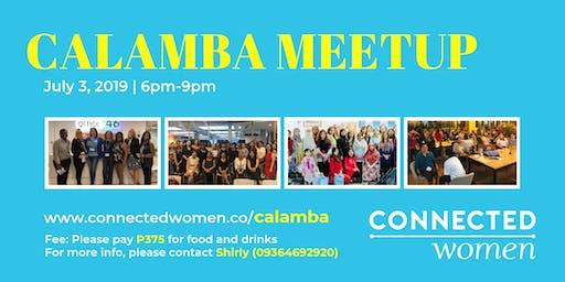 #ConnectedWomen Meetup - Calamba (PH) - July 3