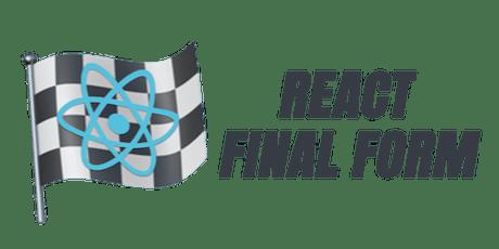 React Final Form... En español :) entradas