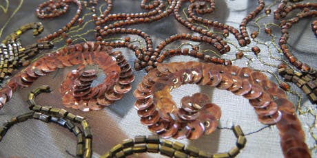 Hand & Lock: Tambour Beading -  (two day workshop) tickets