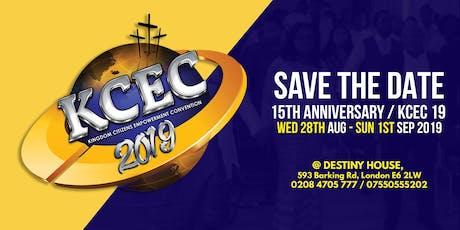 Kingdom Citizens Empowerment Convention (KCEC) 2019 tickets