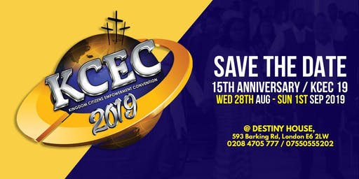 Kingdom Citizens Empowerment Convention (KCEC) 2019