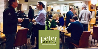 Networking event at Peter Green Furnishers