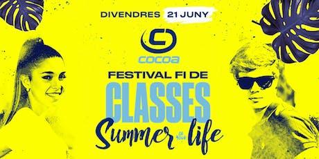 Festival de Fi de Classes entradas