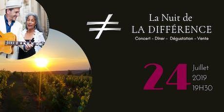 La Nuit de La Différence tickets