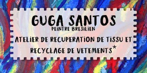 Plasticien brésilien - Atelier peinture