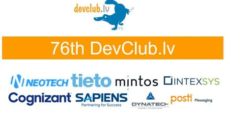 Cloud focused 76th DevClub.lv tickets