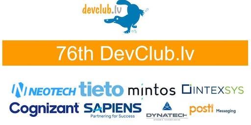 Cloud focused 76th DevClub.lv