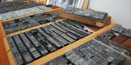 Moving Typography – A Letterpress Workshop tickets
