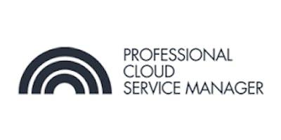 CCC-Professional Cloud Service Manager(PCSM) 3 Days Virtual Live Training