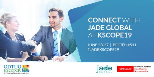 Meet Jade Global at the Premier Oracle Developer Conference, Kscope19!