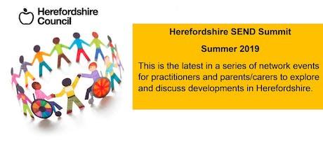 Herefordshire - SEND Summit Summer 2019 tickets