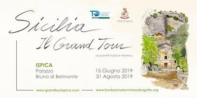 Sicilia, il Grand Tour -  Acquerelli di Fabrice Mo