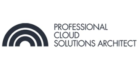CCC-Professional Cloud Solutions Architect 3 Days Virtual Live Training in Canberra  tickets